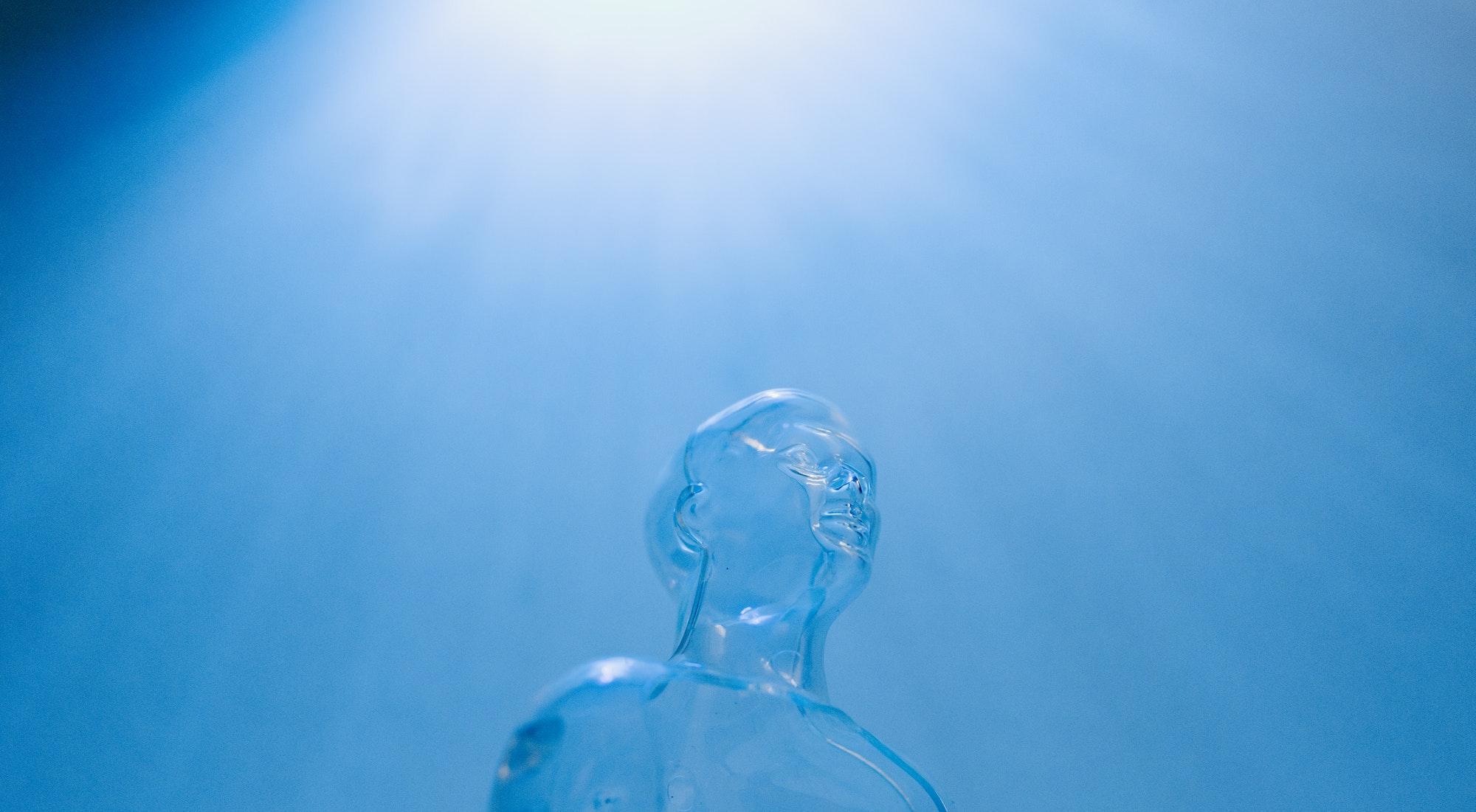 Plastic Bottle Under Water